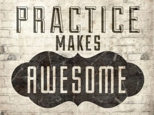 PracticeMakesAwesome